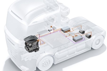 Bosch and Qingling Motors cooperate on fuel cells for Chinese truck market 1