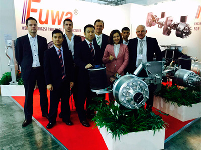The leading global producer of the components FUWA Group on COMTRANS 2019